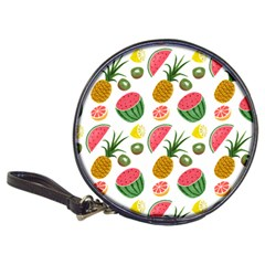 Fruits Pattern Classic 20 Cd Wallets by Nexatart
