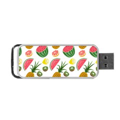 Fruits Pattern Portable Usb Flash (one Side)