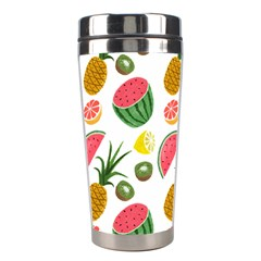 Fruits Pattern Stainless Steel Travel Tumblers by Nexatart