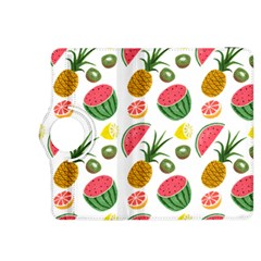 Fruits Pattern Kindle Fire Hdx 8 9  Flip 360 Case