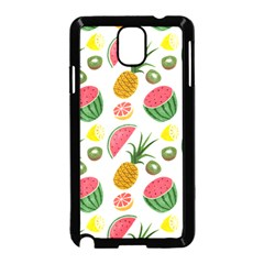 Fruits Pattern Samsung Galaxy Note 3 Neo Hardshell Case (black)