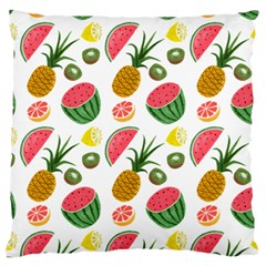 Fruits Pattern Standard Flano Cushion Case (two Sides) by Nexatart