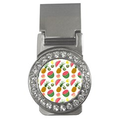 Fruits Pattern Money Clips (cz)  by Nexatart