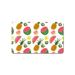 Fruits Pattern Magnet (name Card)