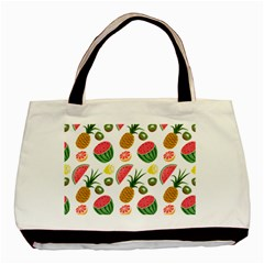 Fruits Pattern Basic Tote Bag