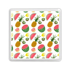Fruits Pattern Memory Card Reader (square)  by Nexatart