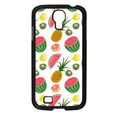Fruits Pattern Samsung Galaxy S4 I9500/ I9505 Case (black) by Nexatart