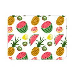 Fruits Pattern Double Sided Flano Blanket (mini)