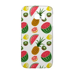 Fruits Pattern Galaxy S6 Edge by Nexatart