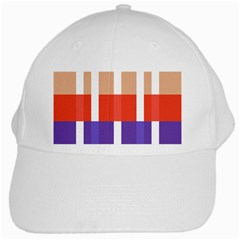 Compound Grid White Cap by Nexatart