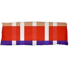 Compound Grid Body Pillow Case Dakimakura (two Sides)