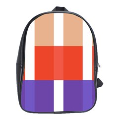 Compound Grid School Bags (xl)