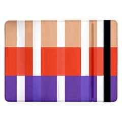 Compound Grid Samsung Galaxy Tab Pro 12 2  Flip Case by Nexatart