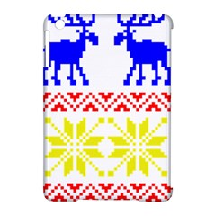 Jacquard With Elks Apple Ipad Mini Hardshell Case (compatible With Smart Cover) by Nexatart