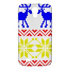 Jacquard With Elks Samsung Galaxy Mega 6 3  I9200 Hardshell Case by Nexatart