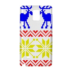 Jacquard With Elks Samsung Galaxy Note 4 Hardshell Case