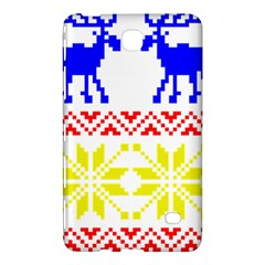 Jacquard With Elks Samsung Galaxy Tab 4 (8 ) Hardshell Case