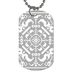 Mosaic Pattern Cyberscooty Museum Pattern Dog Tag (two Sides) by Nexatart