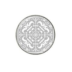 Mosaic Pattern Cyberscooty Museum Pattern Hat Clip Ball Marker by Nexatart