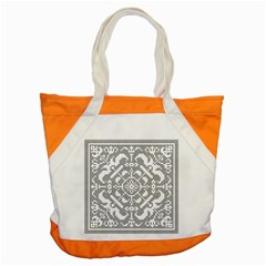 Mosaic Pattern Cyberscooty Museum Pattern Accent Tote Bag
