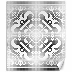Mosaic Pattern Cyberscooty Museum Pattern Canvas 20  X 24   by Nexatart