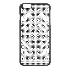 Mosaic Pattern Cyberscooty Museum Pattern Apple Iphone 6 Plus/6s Plus Black Enamel Case by Nexatart