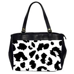 Leopard Skin Office Handbags (2 Sides)  by Nexatart