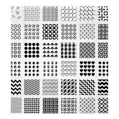 Retro Patterns Shower Curtain 66  X 72  (large)  by Nexatart