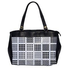 Retro Patterns Office Handbags by Nexatart