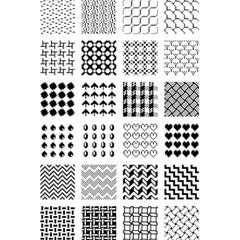 Retro Patterns 5 5  X 8 5  Notebooks by Nexatart