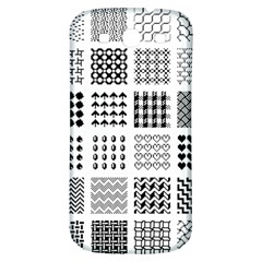 Retro Patterns Samsung Galaxy S3 S Iii Classic Hardshell Back Case by Nexatart