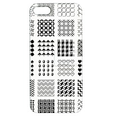 Retro Patterns Apple Iphone 5 Hardshell Case With Stand by Nexatart