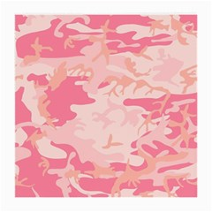 Pink Camo Print Medium Glasses Cloth (2 Side)