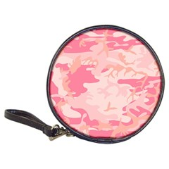 Pink Camo Print Classic 20 Cd Wallets