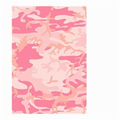 Pink Camo Print Small Garden Flag (two Sides)