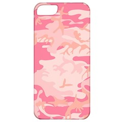 Pink Camo Print Apple Iphone 5 Classic Hardshell Case