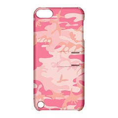 Pink Camo Print Apple Ipod Touch 5 Hardshell Case With Stand