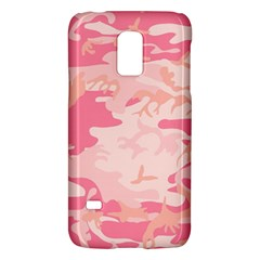 Pink Camo Print Galaxy S5 Mini by Nexatart