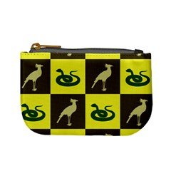 Bird And Snake Pattern Mini Coin Purses by Nexatart