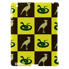 Bird And Snake Pattern Apple Ipad 3/4 Hardshell Case (compatible With Smart Cover) by Nexatart