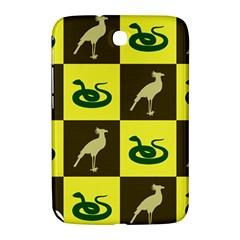 Bird And Snake Pattern Samsung Galaxy Note 8 0 N5100 Hardshell Case  by Nexatart