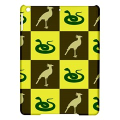 Bird And Snake Pattern Ipad Air Hardshell Cases