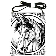 Framed Horse Shoulder Sling Bags by Nexatart
