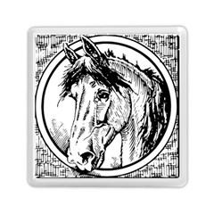 Framed Horse Memory Card Reader (square)  by Nexatart
