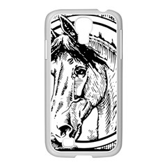 Framed Horse Samsung Galaxy S4 I9500/ I9505 Case (white) by Nexatart