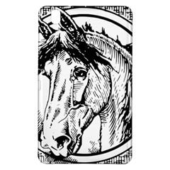 Framed Horse Samsung Galaxy Tab Pro 8 4 Hardshell Case by Nexatart