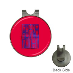 Funny Foggy Thing Hat Clips With Golf Markers