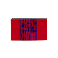 Funny Foggy Thing Cosmetic Bag (small)  by Nexatart