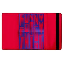 Funny Foggy Thing Apple Ipad 3/4 Flip Case by Nexatart