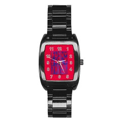 Funny Foggy Thing Stainless Steel Barrel Watch